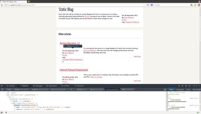 A screenshot of the broken theme